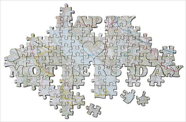 Happy Mothers Day Personalised Jigsaw