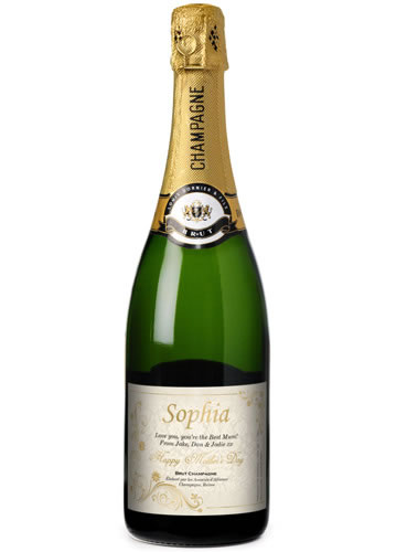 Personalised Champagne - Mothers Day