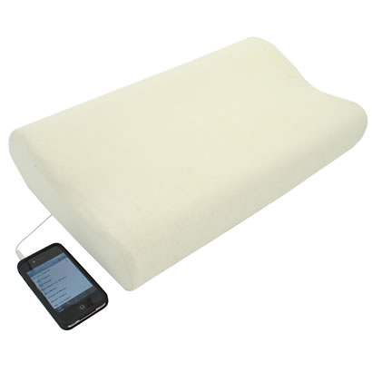 Sound Asleep Memory Foam iMusic Pillow
