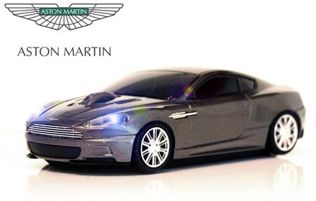 Wireless Car Mouse - Aston Martin - Quantum Grey