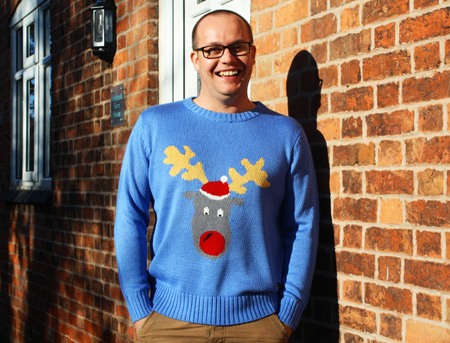 Christmas Jumper - Reggie Reindeer - Medium