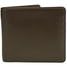 Mustard Brown Leather Coin Wallet product image