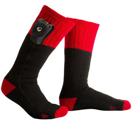 Home Page Fun Gifts Clothing Outback Battery Heated Socks - Mens