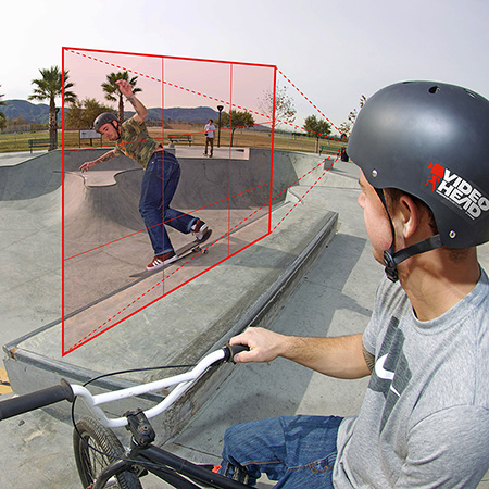 Video Head - Recording Helmet