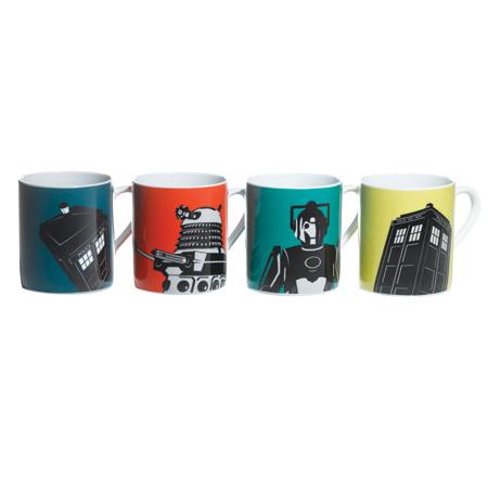 Doctor Who Boxed Mug Set